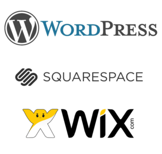 WordPress Squarespace WIX